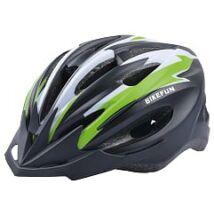 Sisak Bikefun Cobber L fekete/zöld 58-61cm