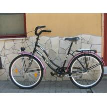 "Csepel Cruiser  26"" pink-fekete"