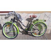 Neuzer Cruiser női neon zöld/matt fekete
