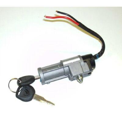 Elektromos gyújtáskapcsoló akku zárral 2 csavaros rögzítés 70mm