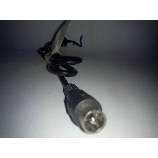 Elektromos töltő kábel koax csat