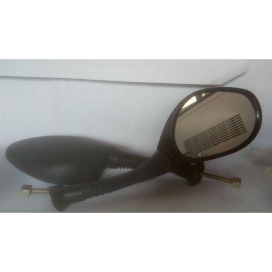 Elektromos tükör robogora  barna vastag menetes