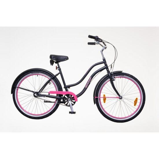 Neuzer Cruiser női  pink - matt fekete